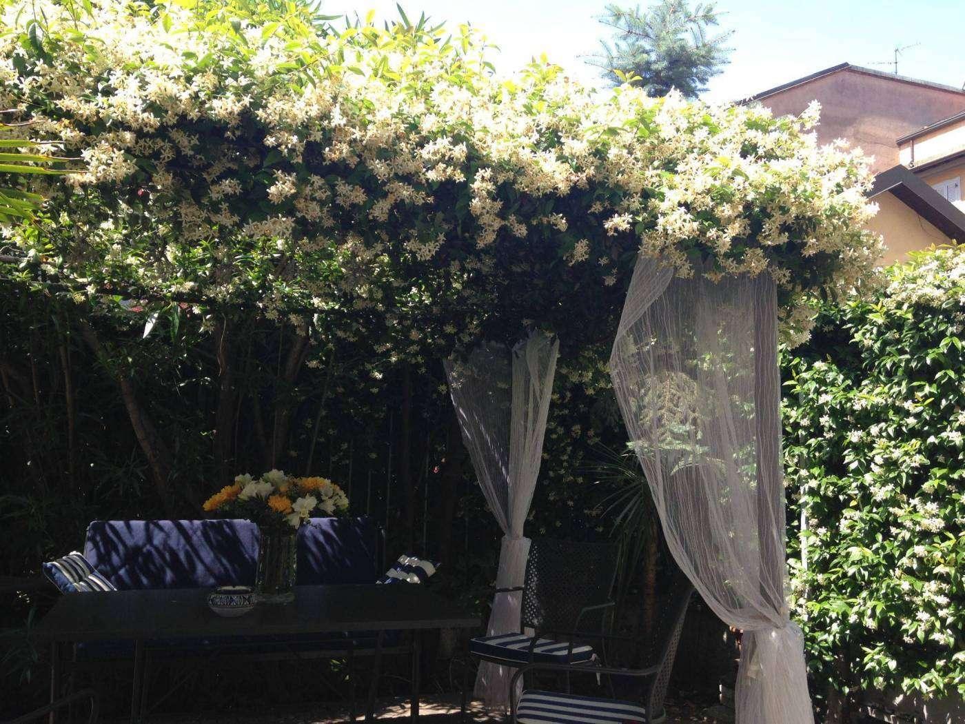 giardino fiorito loft