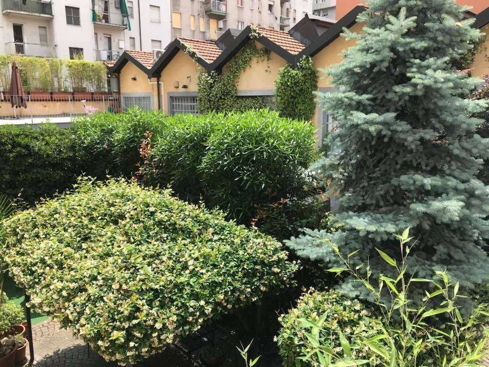 giardino veduta loft